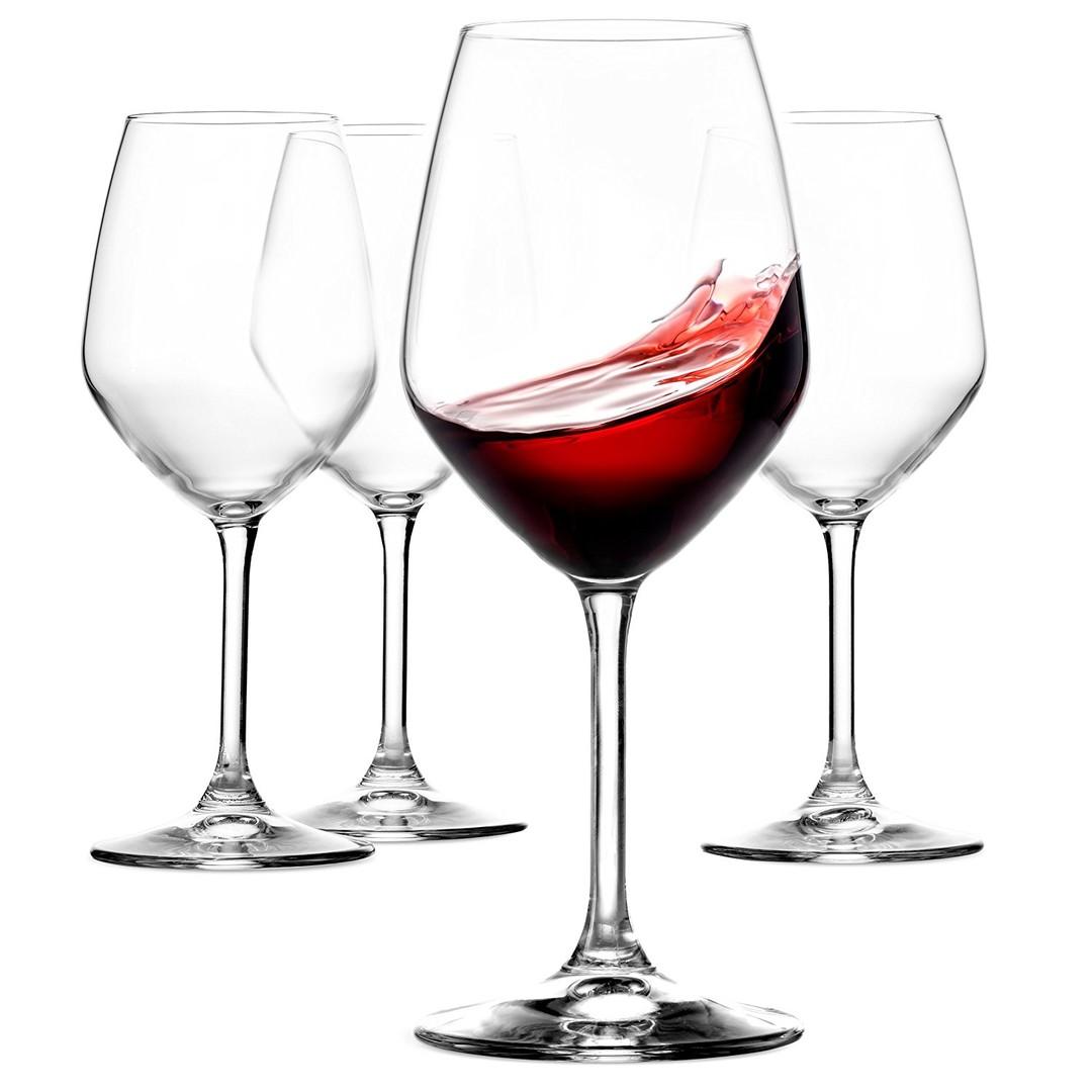 Glas wijn - Shopping De Panne