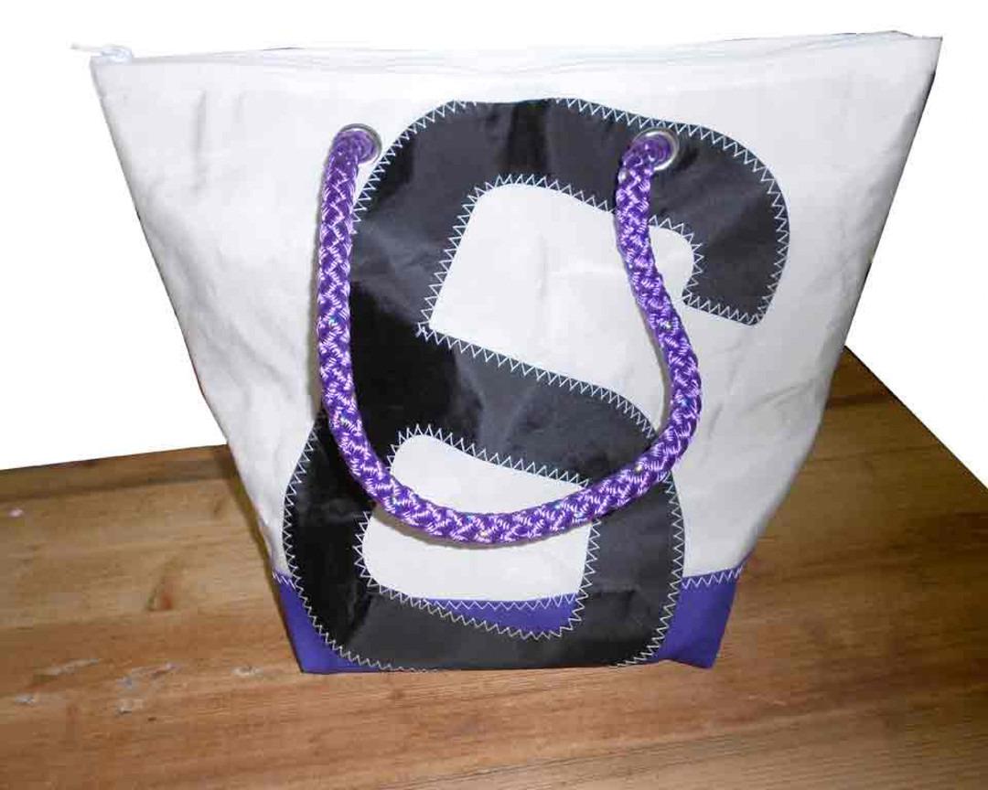 Shopping Bag Paars Zes - Shopping De Panne
