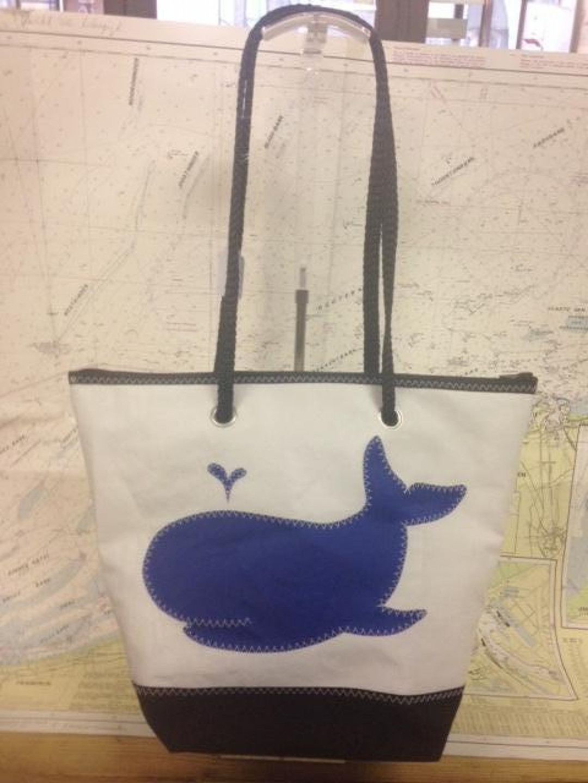 Shopping Bag Walvis - Shopping De Panne