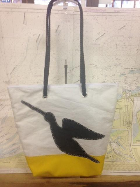 Shopping Bag Zwarte Snipe - Shopping De Panne