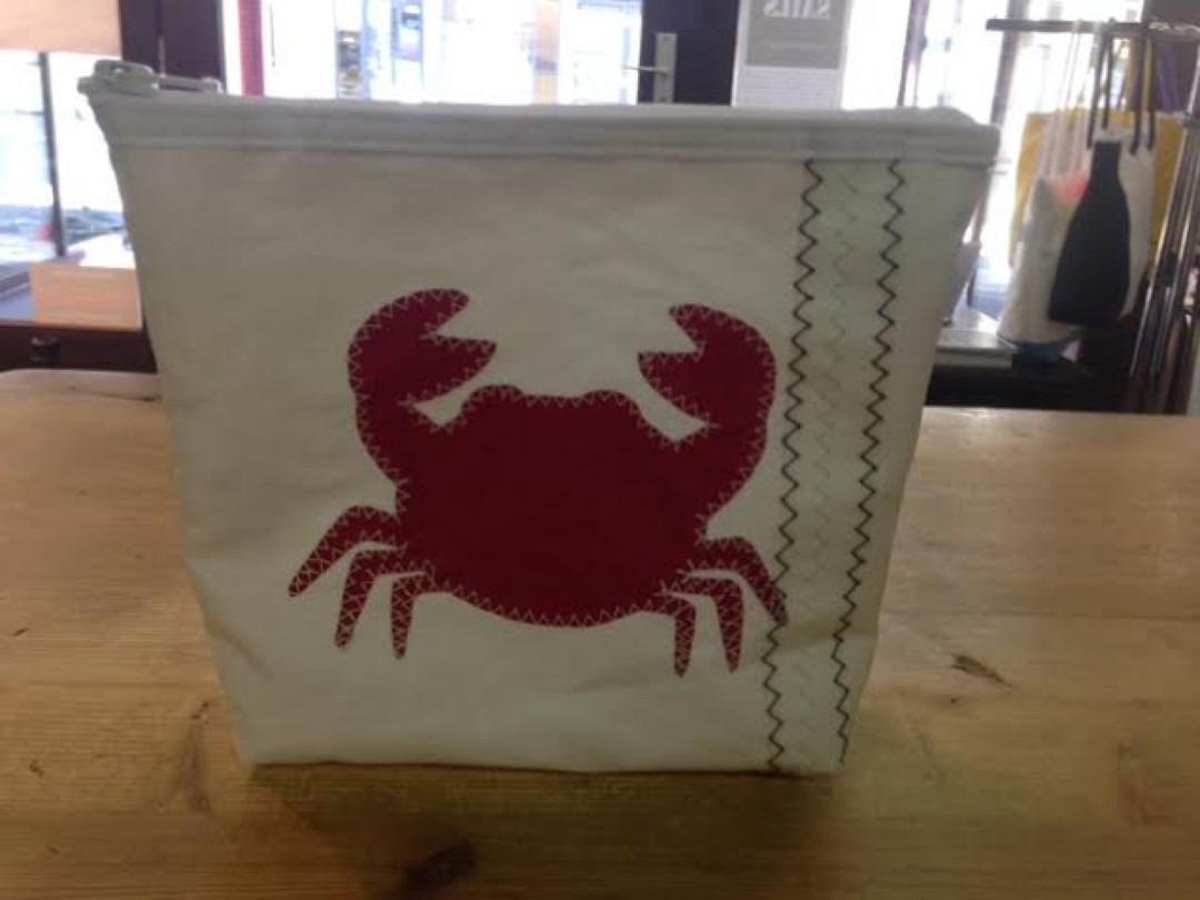 Toilettas rode krab s - Shopping De Panne