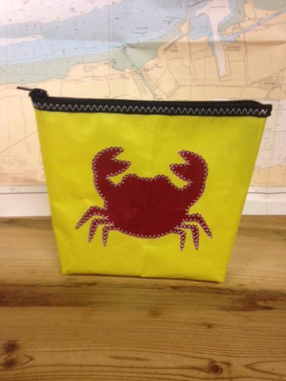 Toiletzak klein krab (geel) - Shopping De Panne