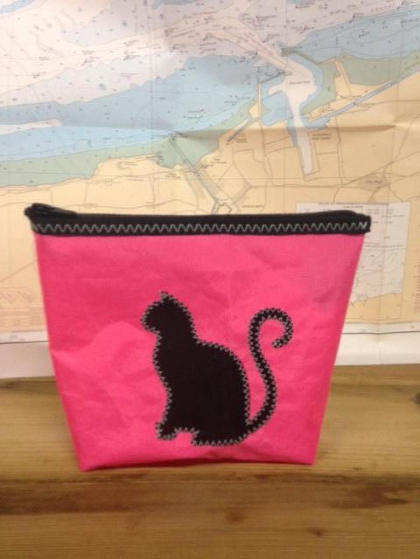 Toiletzak klein kat (roze) - Shopping De Panne