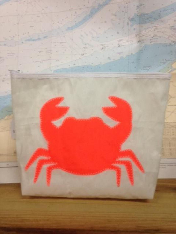 Toiletzak groot oranje krab - Shopping De Panne