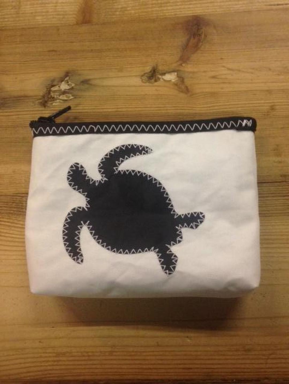 Geldbeugel schildpad zwart - Shopping De Panne