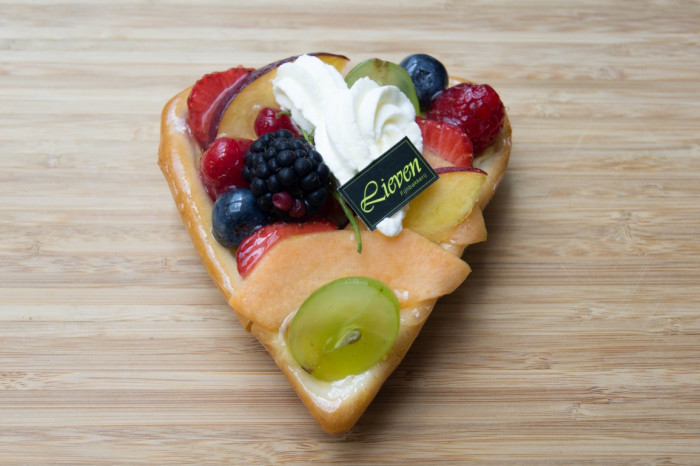 Hartje met vers fruit* - Shopping De Panne
