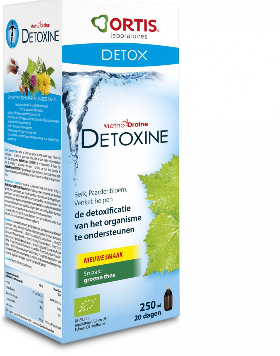 Detoxine groene thee - Shopping De Panne
