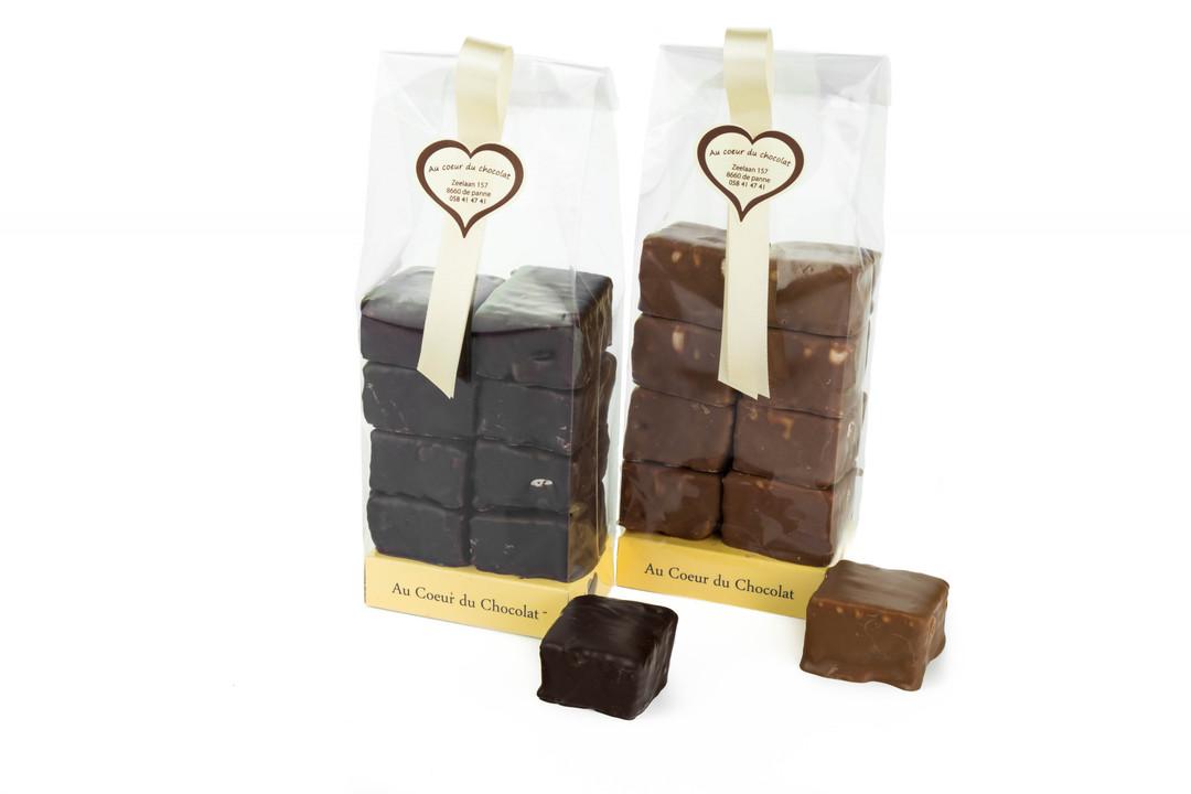 Ambachtelijk chocoladespek - Shopping De Panne
