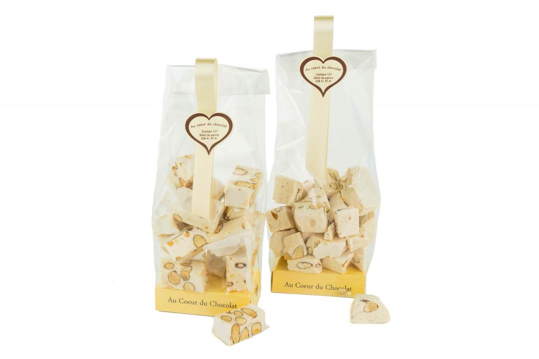 Nougat Montelimar amandel 200 gram - Shopping De Panne